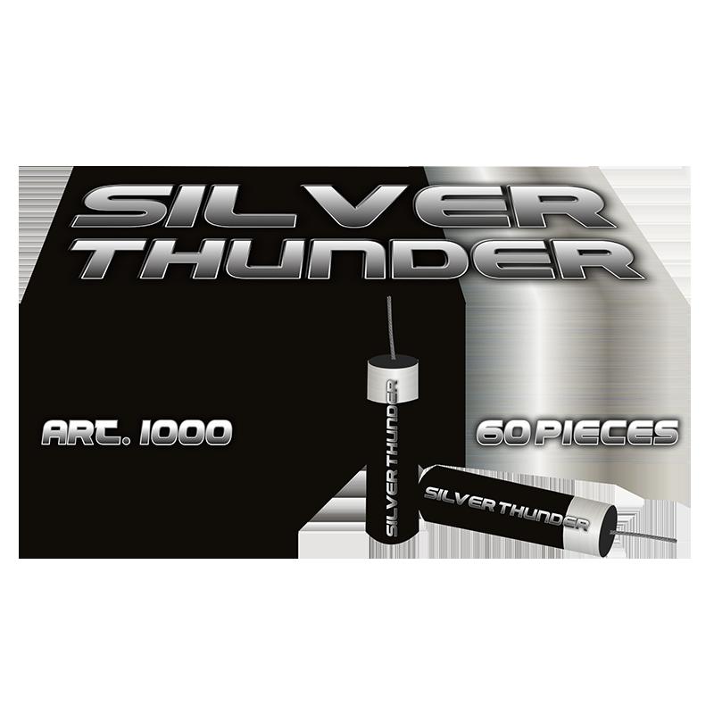 Silver Thunder Rotjes 60 stuks