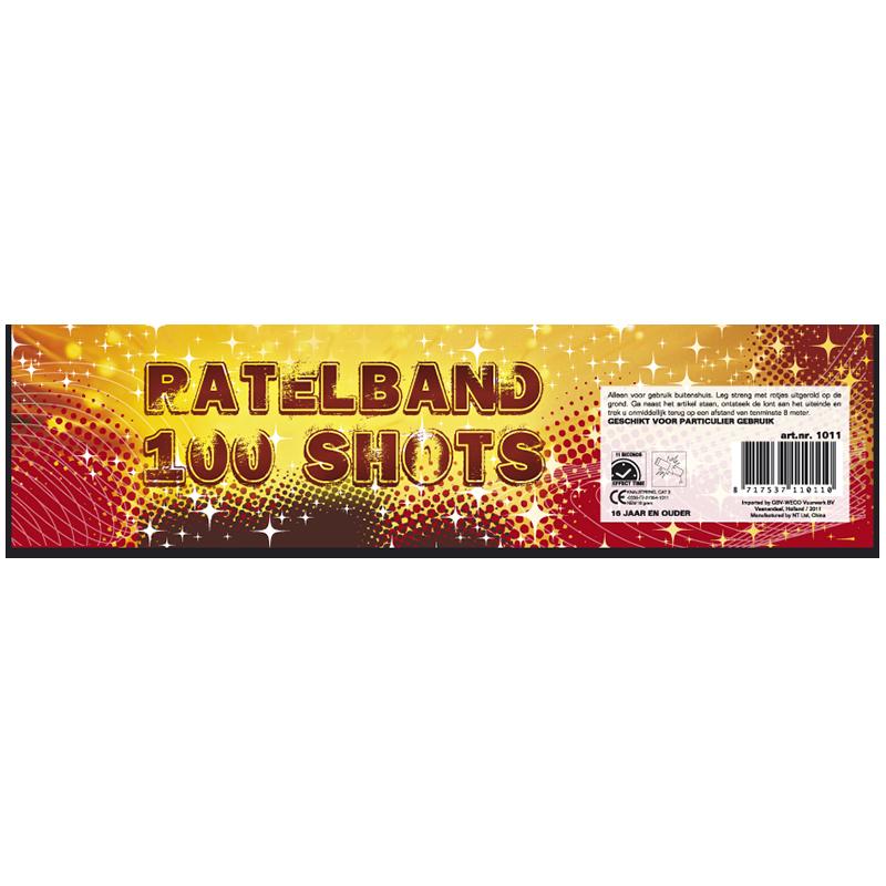 Ratelband 100 shots