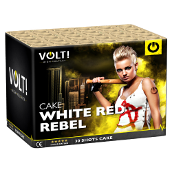 Volt White Red Rebel