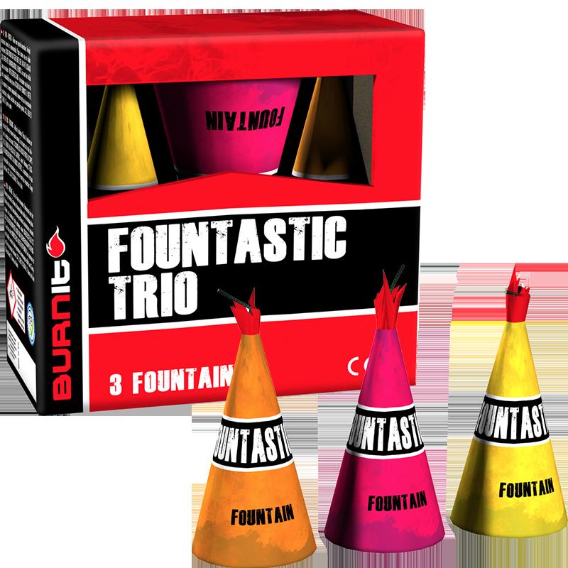 Fountastic Trio Burn it