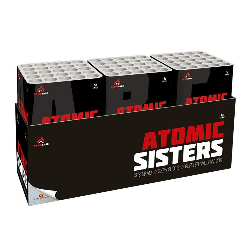 Atomic Sisters Display-Box UITVERKOOP