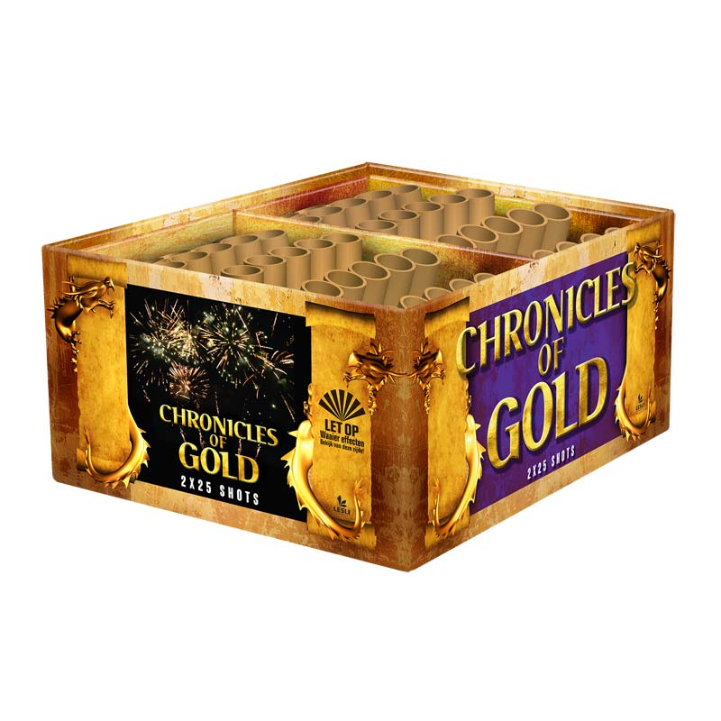 Chronicles of Gold Display-Box UITVERKOOP