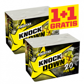 Knock down 1+1 gratis