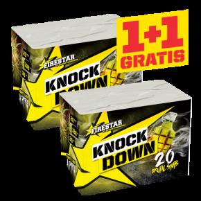 Knock down 1+1 gratis