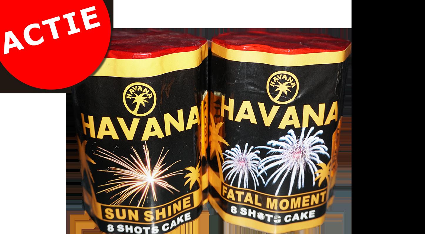 Havana 8 shots cake