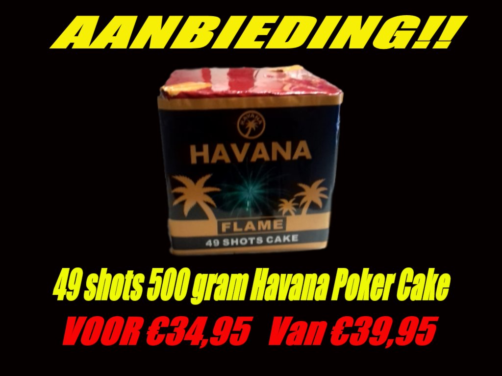 Havana Poker 49 shots 500 gram