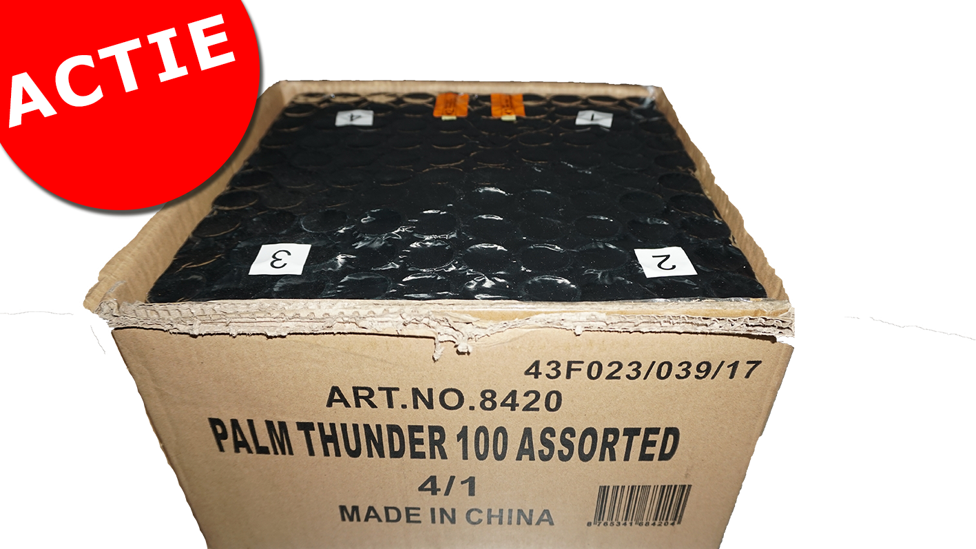 Palm Thunder 100 ASSORTED