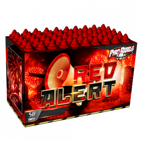 RED ALERT 50 shots fluitbak, nu in de aanbieding voor half geld!