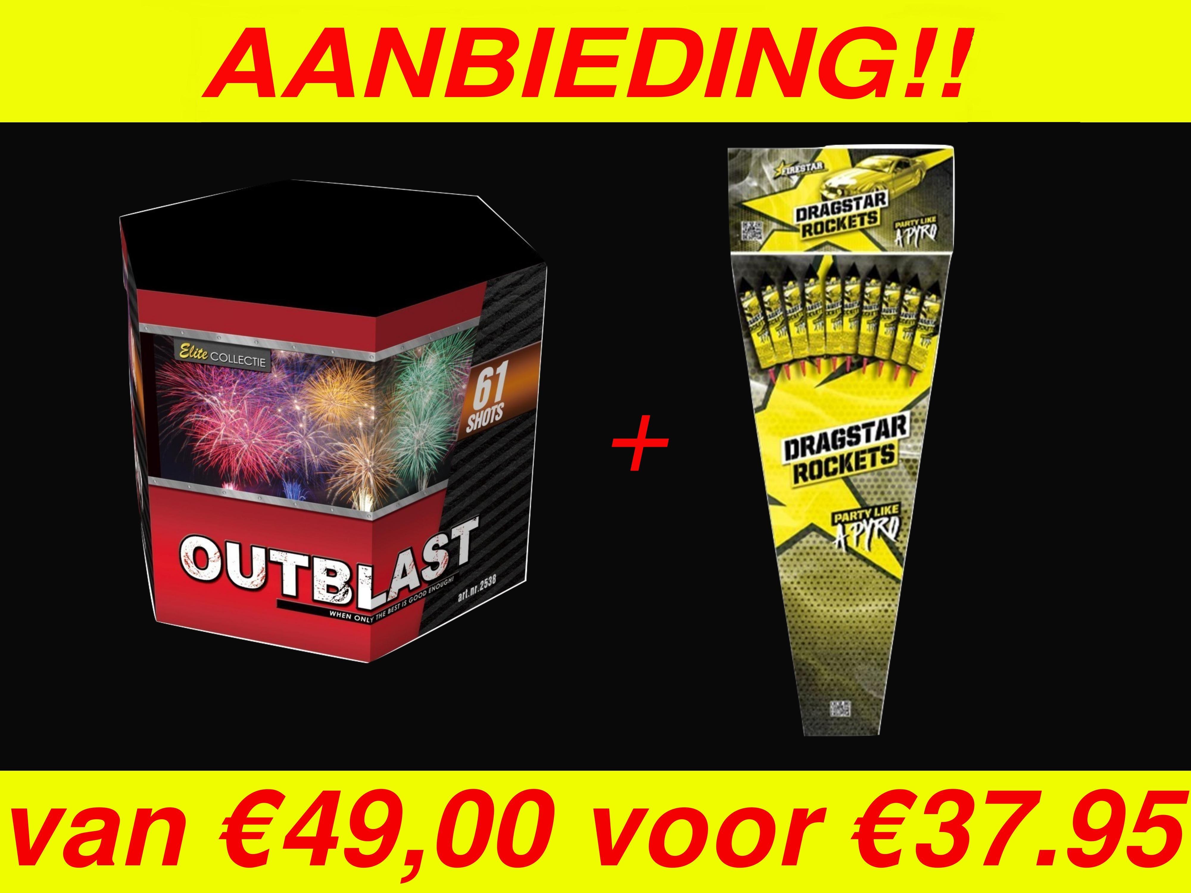 Outblast + Dragstar pijlen