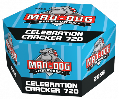 Celebration Cracker 720 schots