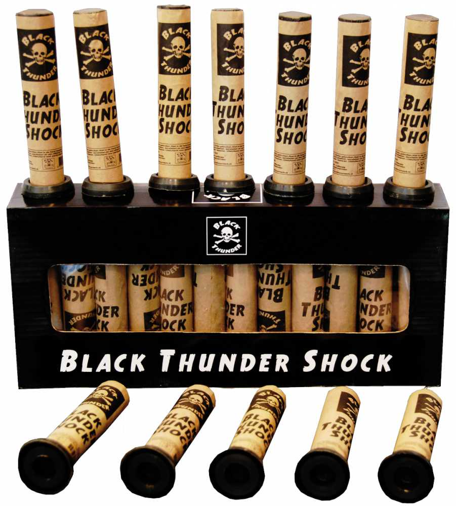 Black thunder shocks