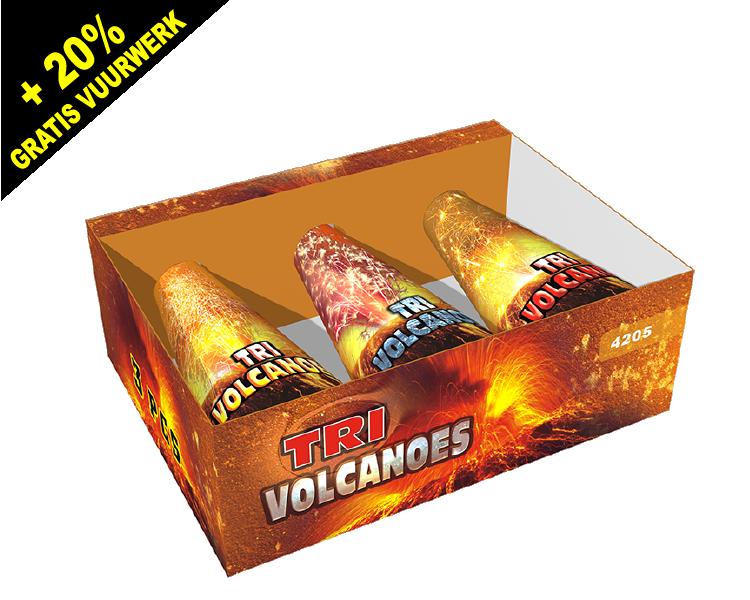 Assorted Volcano