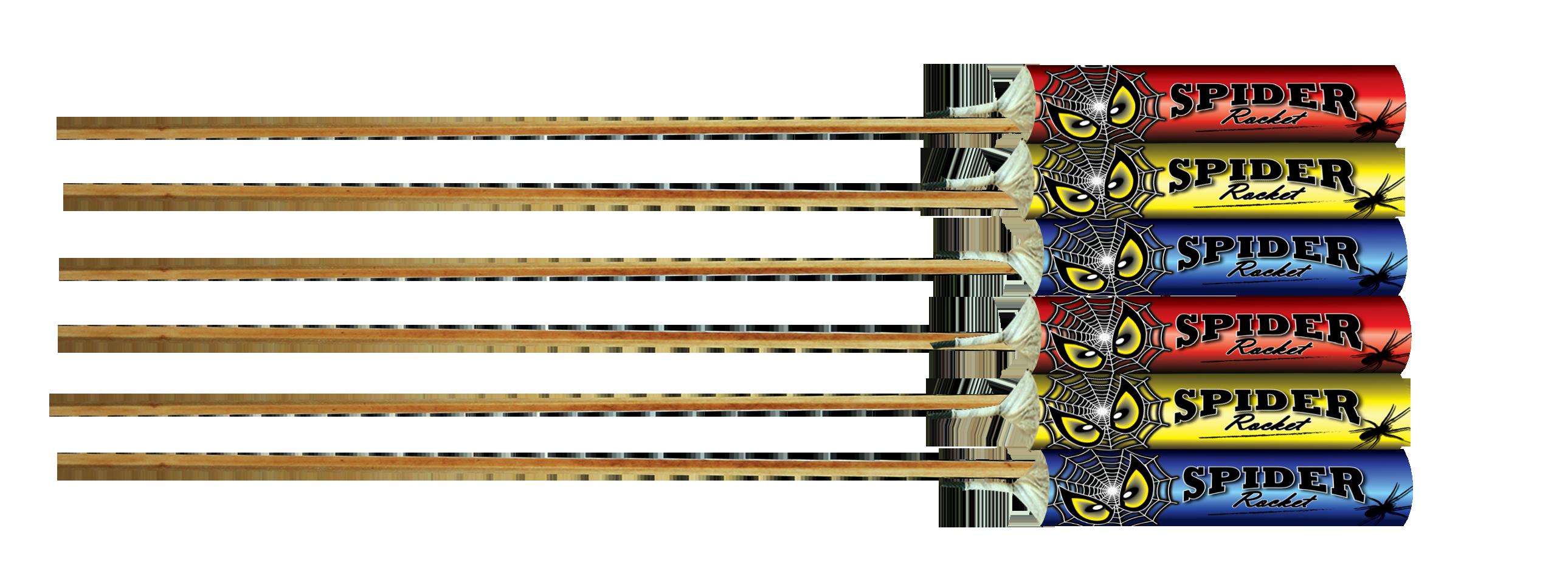 Spider Rocket 6 stuks
