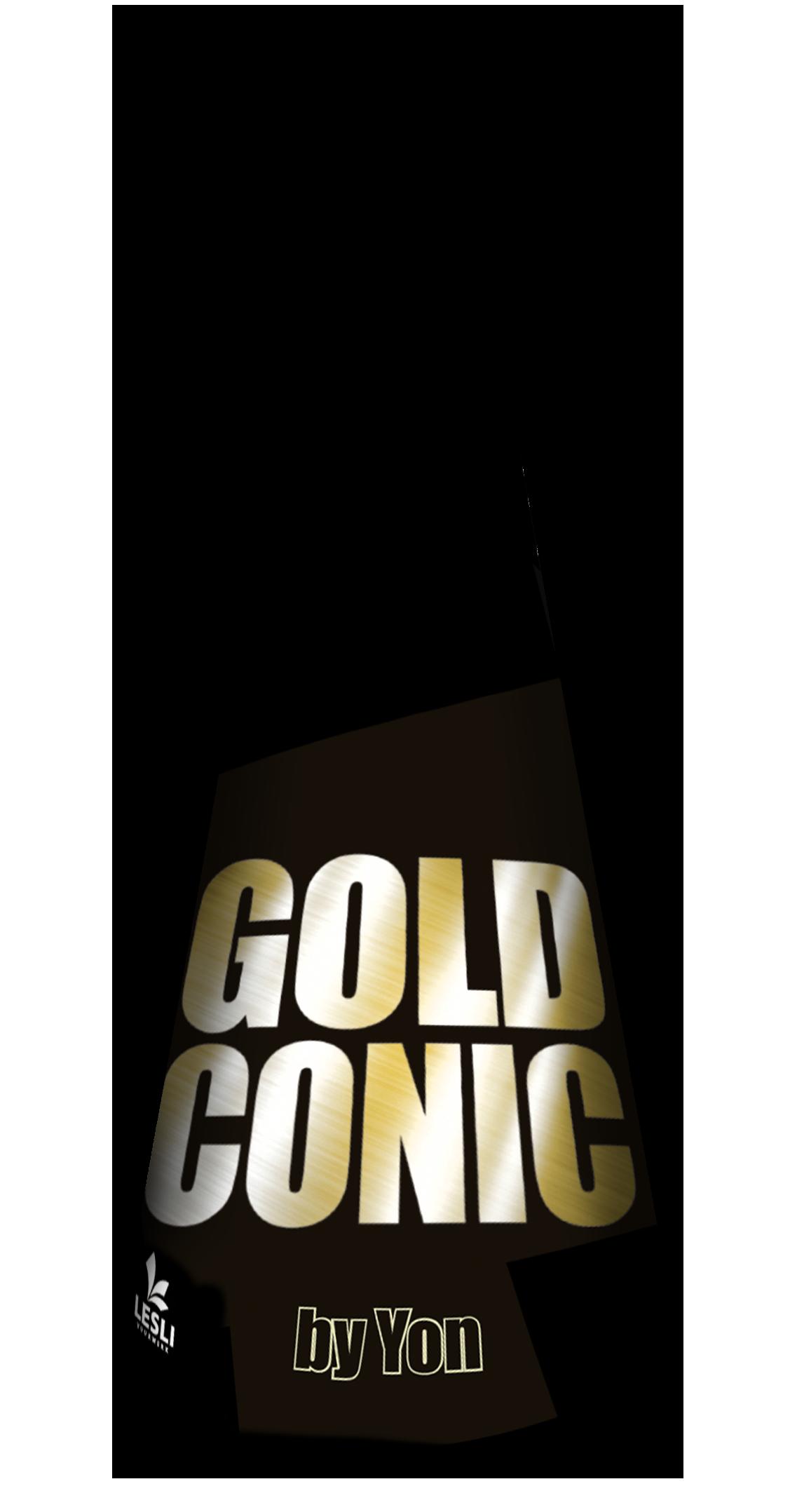 Gold conic *NIEUW*