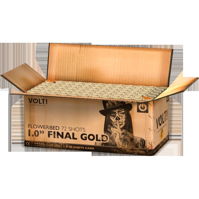 """1,0"""" Final Gold"""