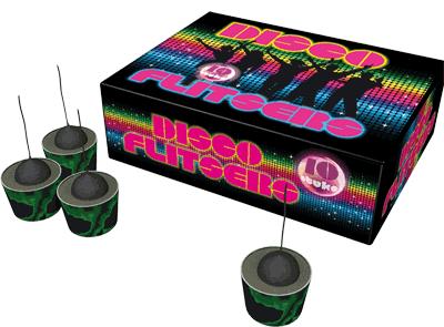 Disco flitsers