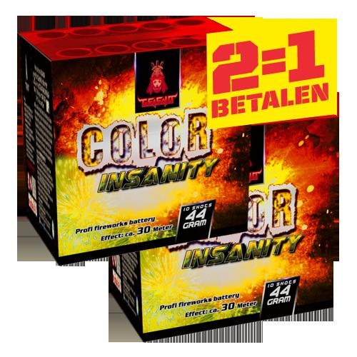 2 voor 1 Color Insanity