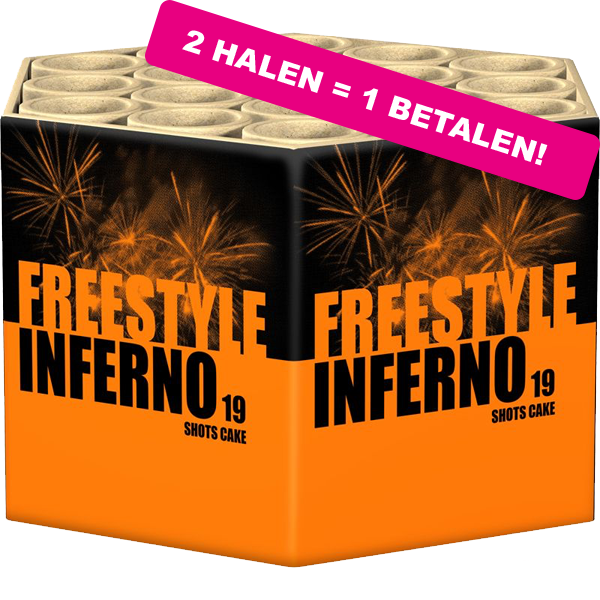 Freestyle Inferno 2 HALEN 1 BETALEN